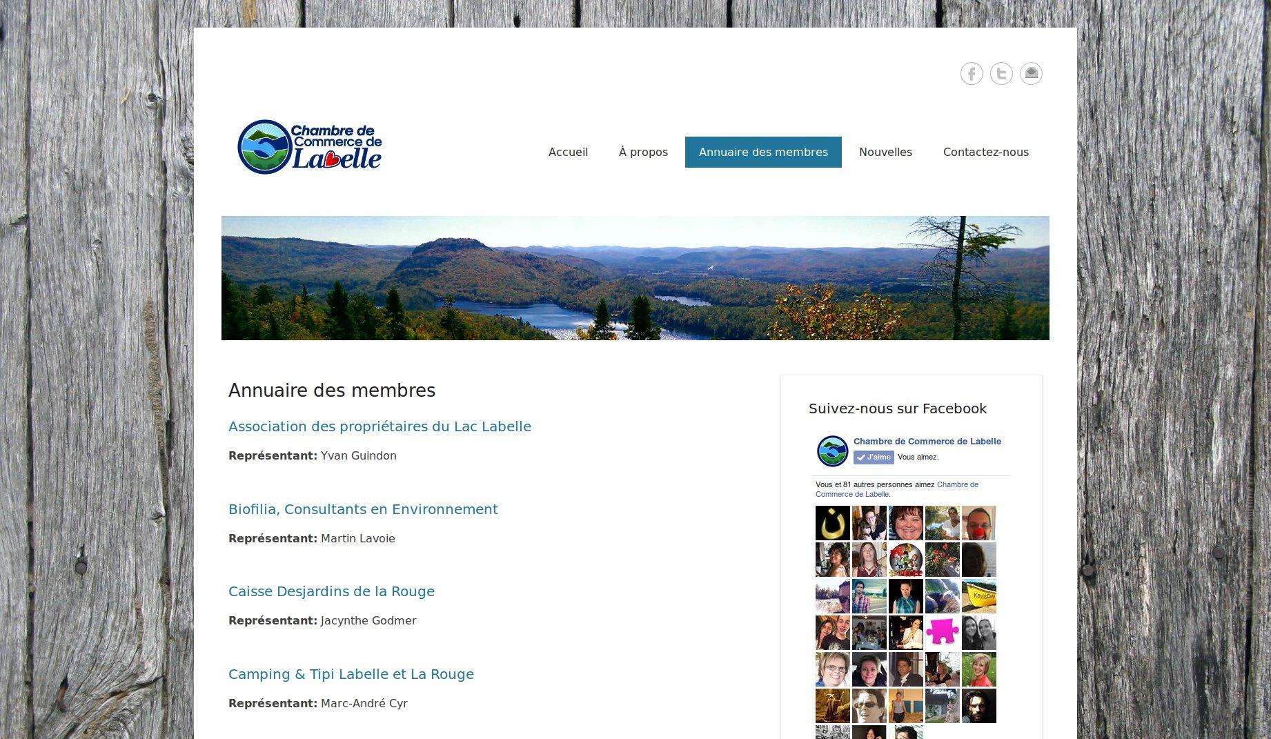Chambre de commerce de labelle pme solution site for Chambre de commerce de