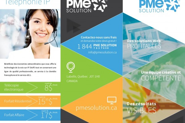 Dépliant PME Solution